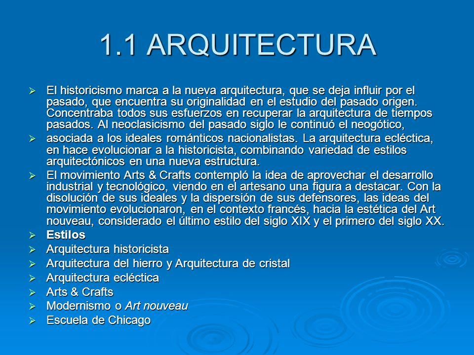 1.1 ARQUITECTURA