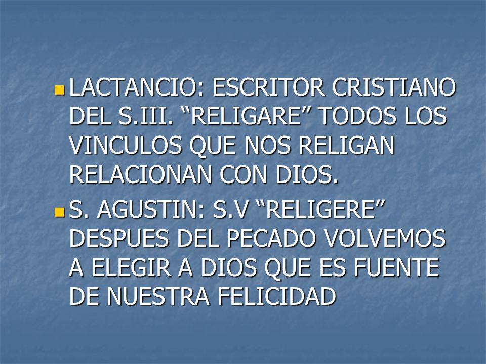 LACTANCIO: ESCRITOR CRISTIANO DEL S. III