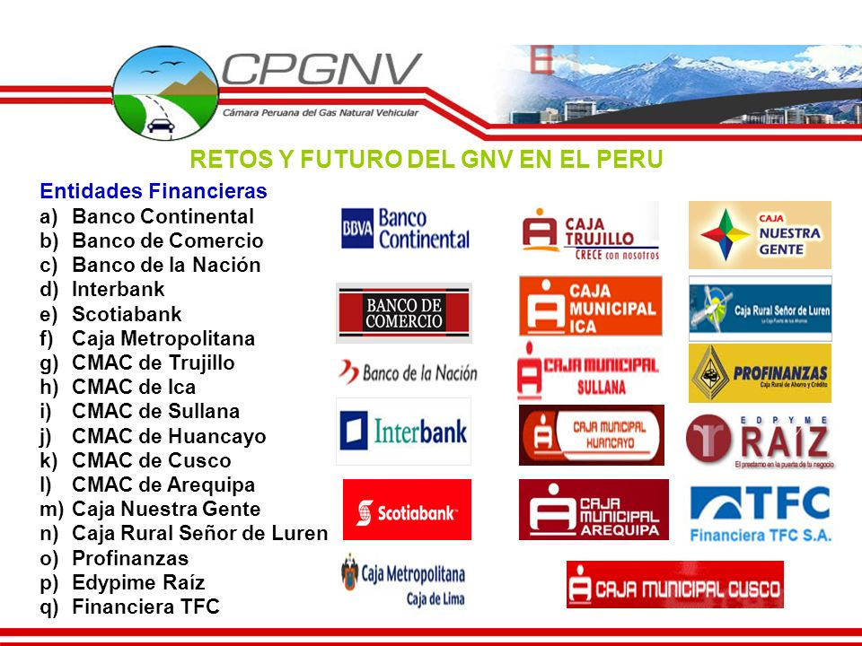 RETOS Y FUTURO DEL GNV EN EL PERU