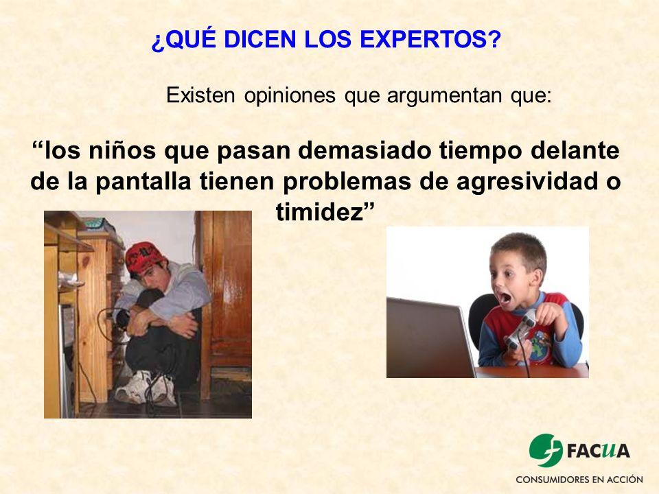 ¿QUÉ DICEN LOS EXPERTOS