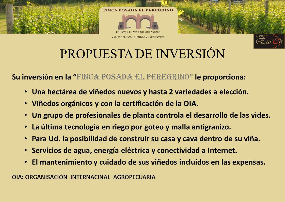 PROPUESTA DE INVERSIÓN