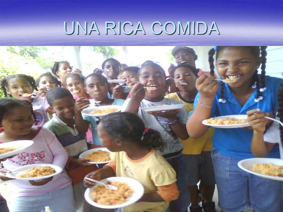 UNA RICA COMIDA
