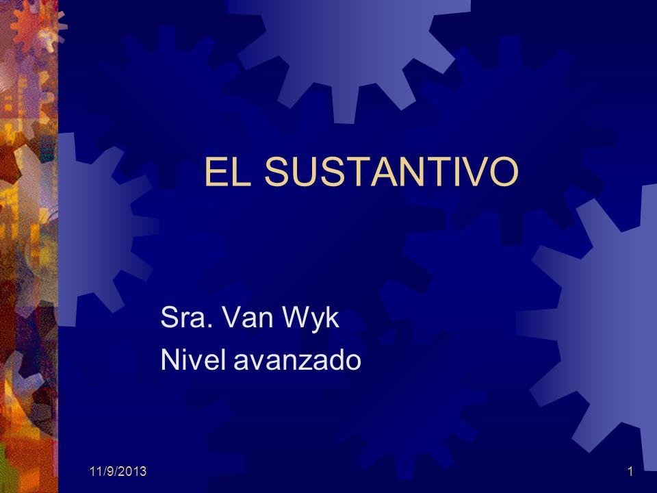 Sra. Van Wyk Nivel avanzado