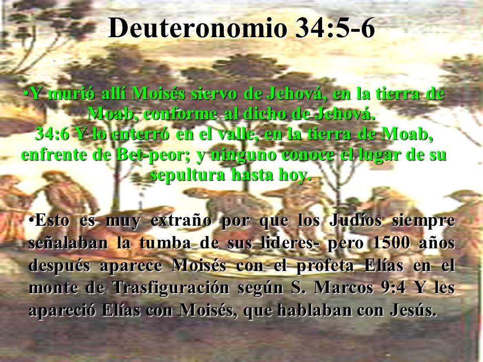Deuteronomio 34:5-6