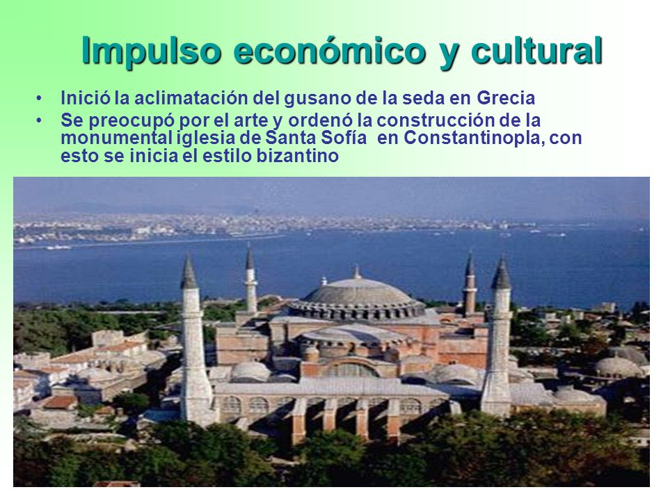 Impulso económico y cultural
