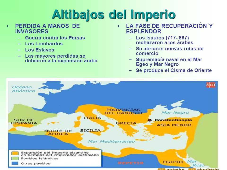 Altibajos del Imperio PERDIDA A MANOS DE INVASORES