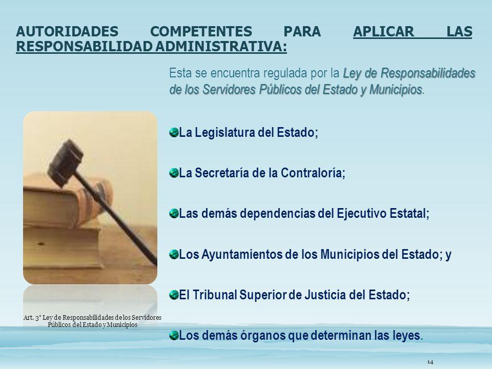 La Legislatura del Estado;