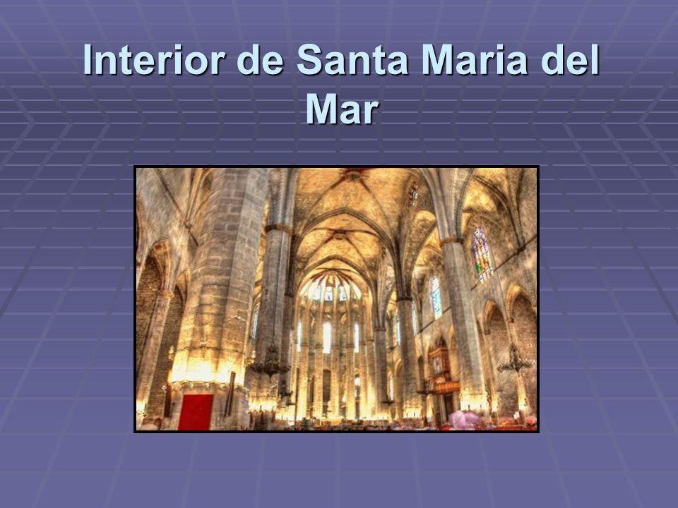 Interior de Santa Maria del Mar