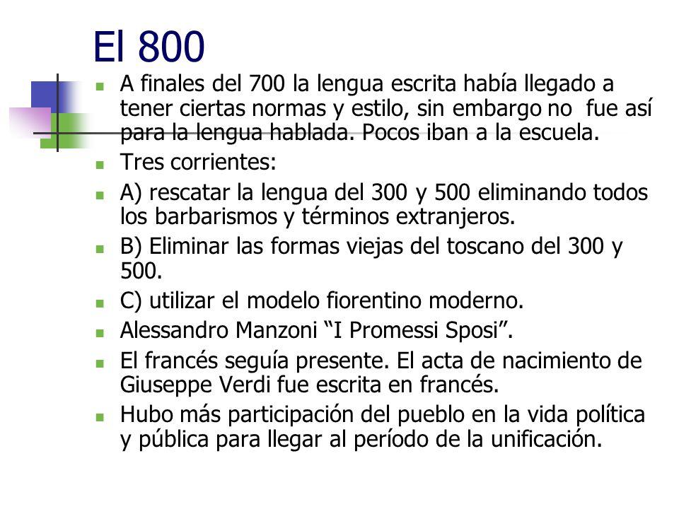 El 800