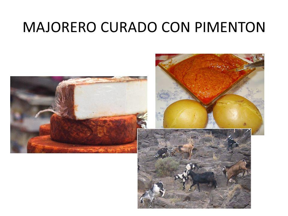MAJORERO CURADO CON PIMENTON