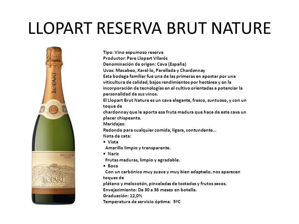 LLOPART RESERVA BRUT NATURE