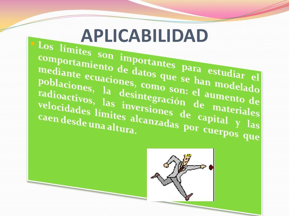 APLICABILIDAD