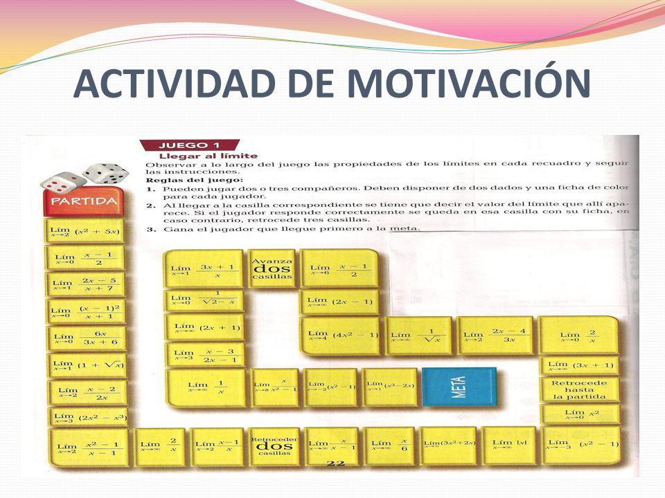 ACTIVIDAD DE MOTIVACIÓN