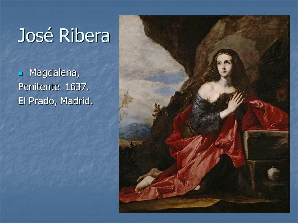 José Ribera Magdalena, Penitente. 1637. El Prado, Madrid.