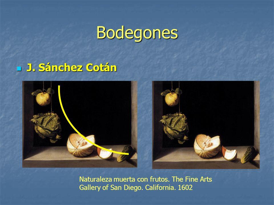Bodegones J. Sánchez Cotán