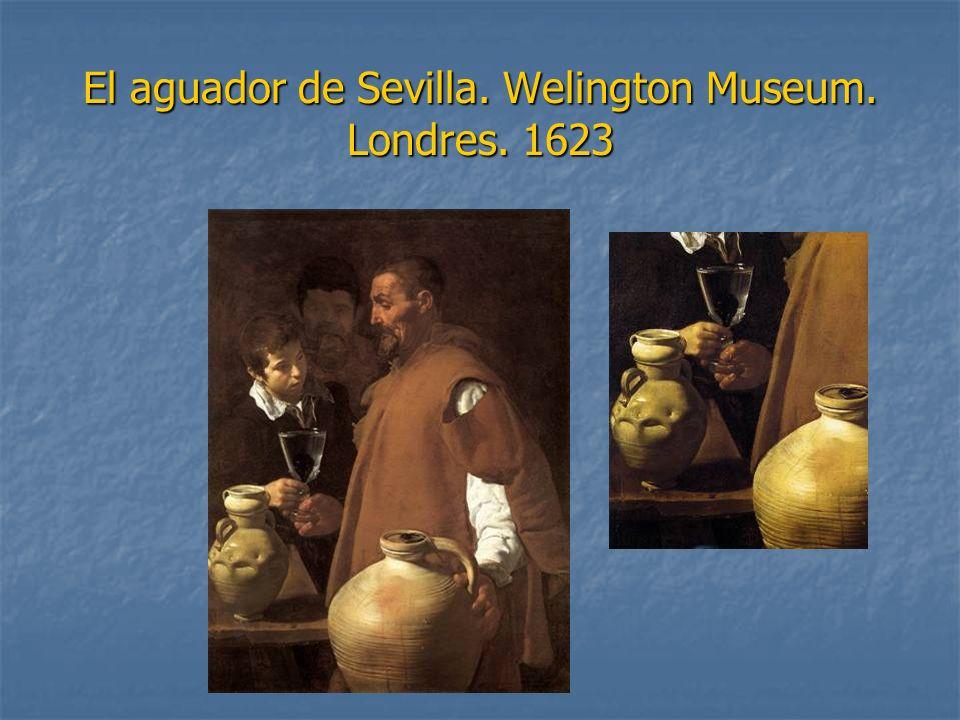 El aguador de Sevilla. Welington Museum. Londres. 1623