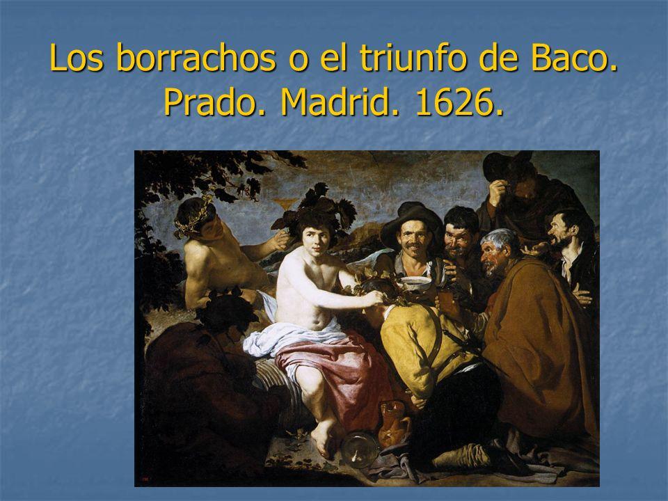 Los borrachos o el triunfo de Baco. Prado. Madrid. 1626.