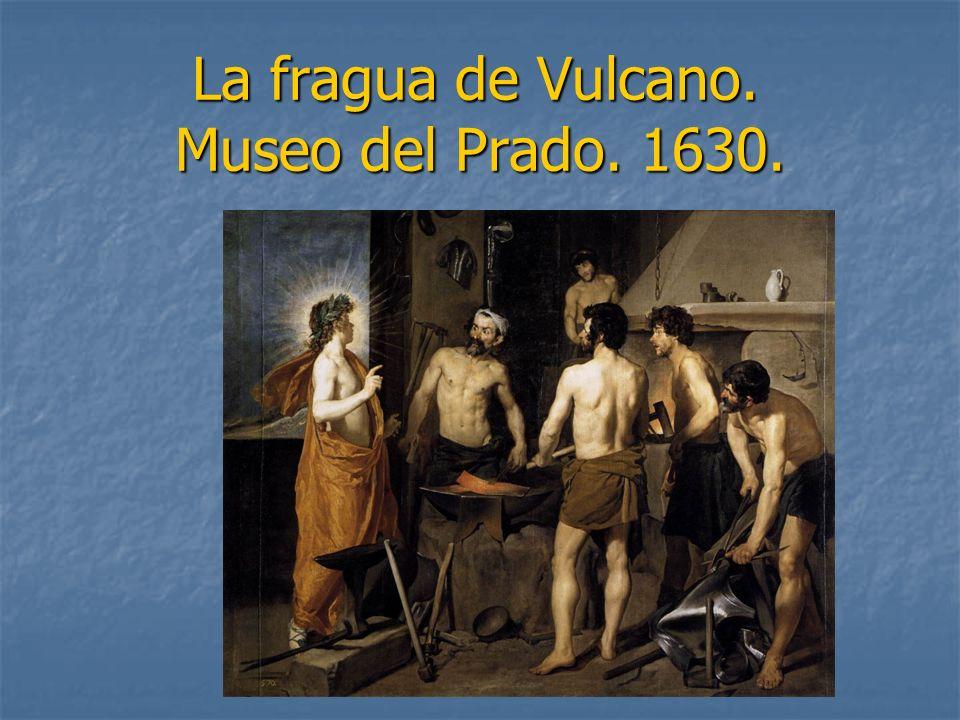 La fragua de Vulcano. Museo del Prado. 1630.