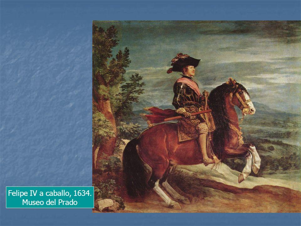 Felipe IV a caballo, 1634. Museo del Prado