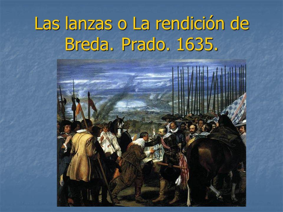 Las lanzas o La rendición de Breda. Prado. 1635.