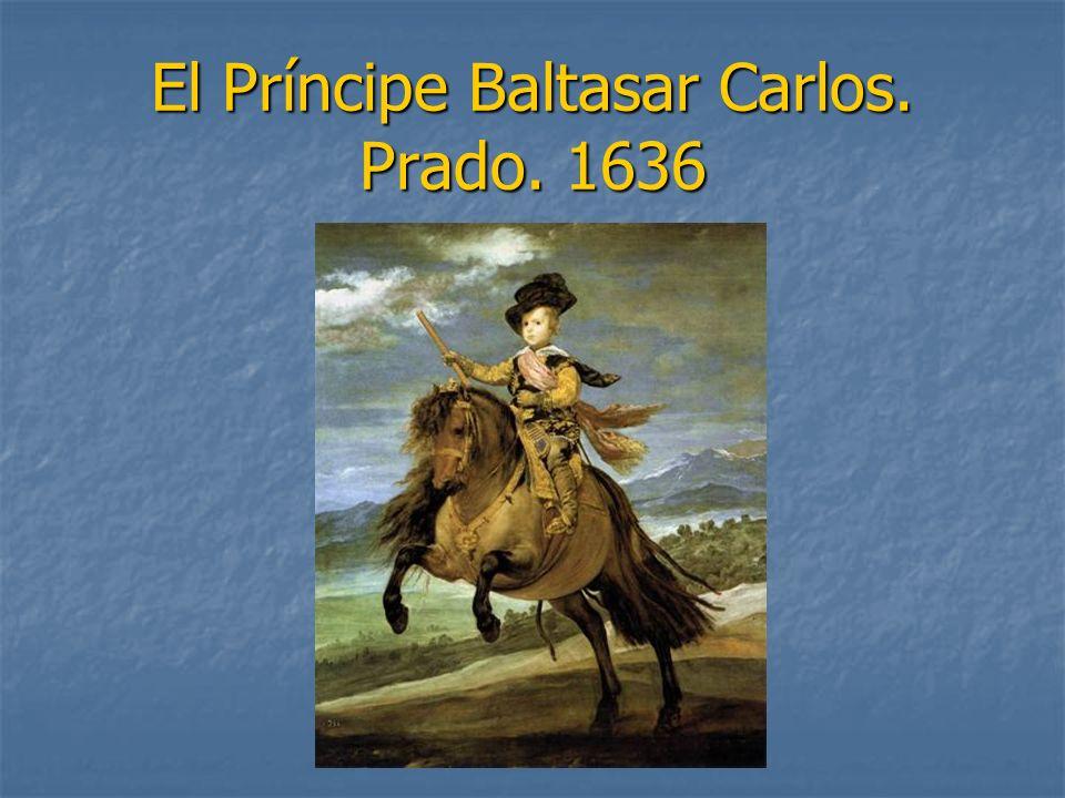 El Príncipe Baltasar Carlos. Prado. 1636