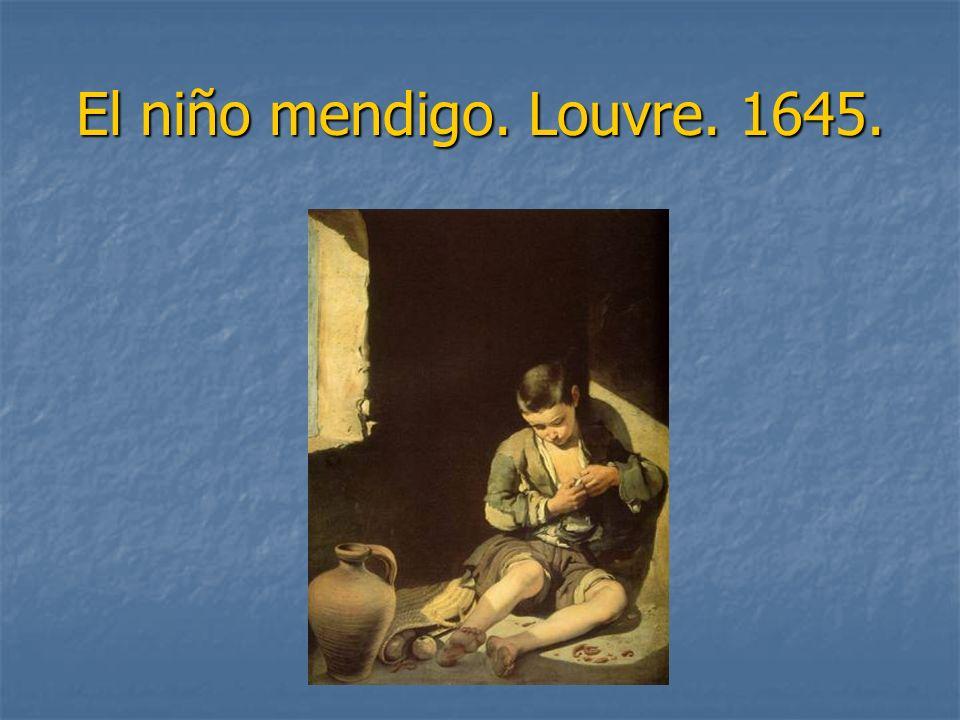 El niño mendigo. Louvre. 1645.