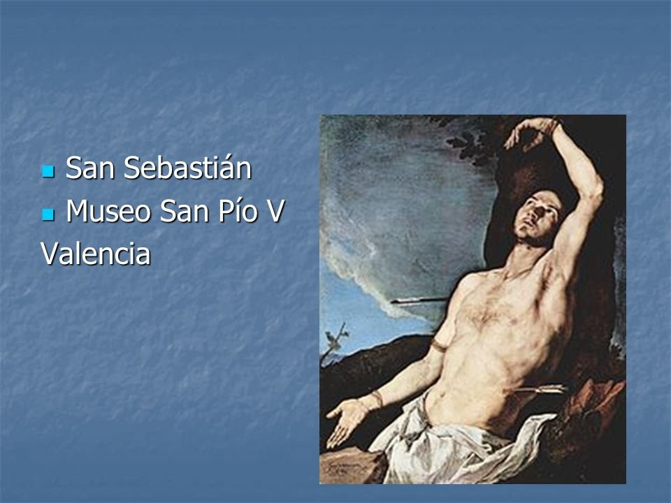 San Sebastián Museo San Pío V Valencia