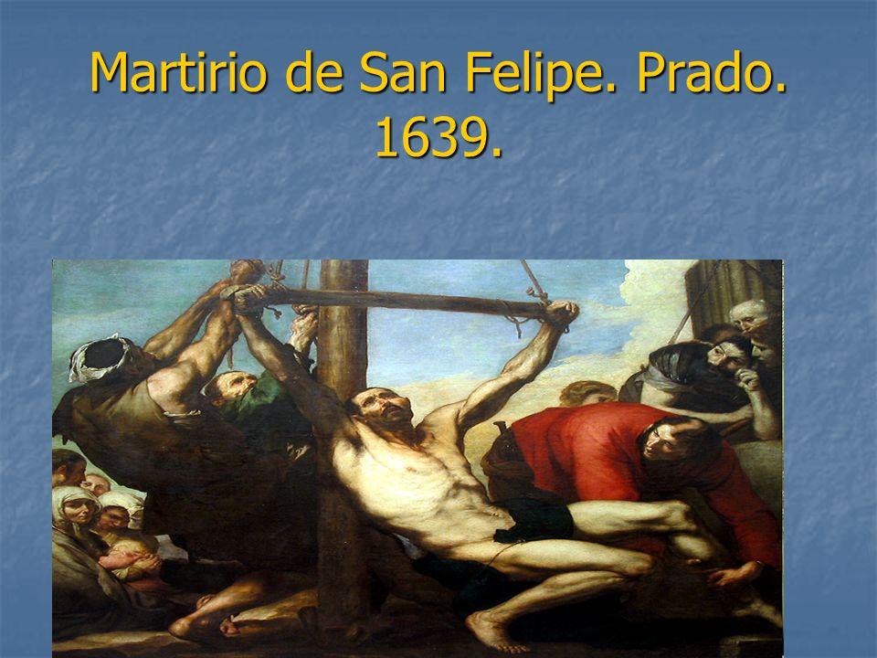 Martirio de San Felipe. Prado. 1639.