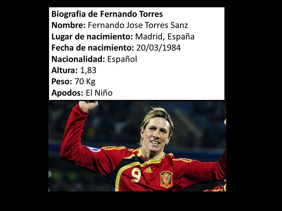 Biografia de Fernando Torres