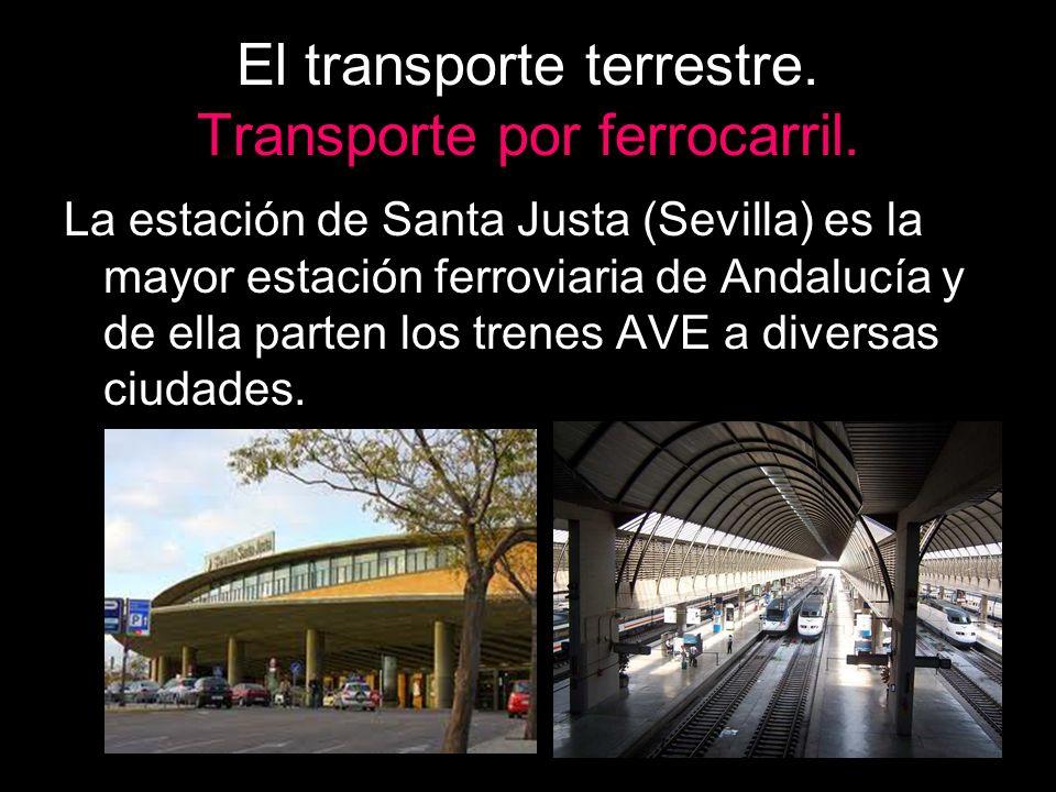 El transporte terrestre. Transporte por ferrocarril.