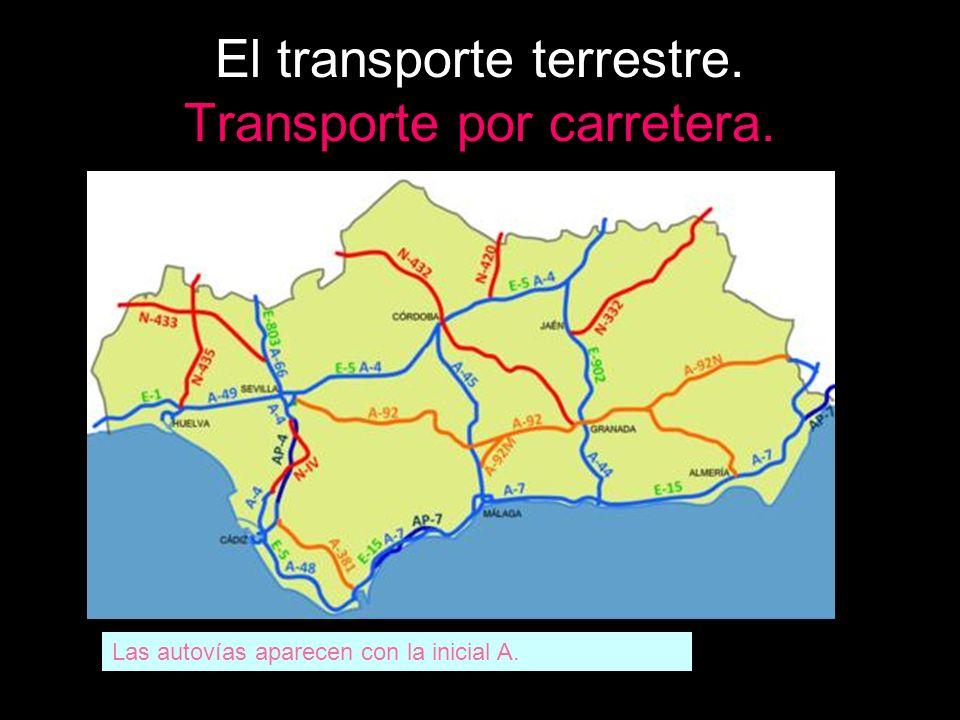 El transporte terrestre. Transporte por carretera.