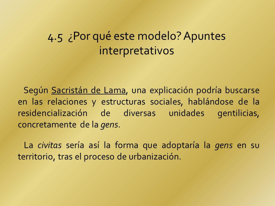 4.5 ¿Por qué este modelo Apuntes interpretativos