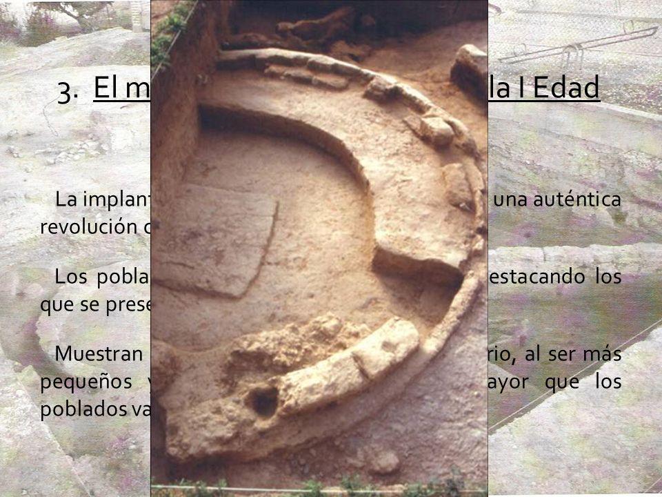 3. El modelo de poblamiento en la I Edad del Hierro