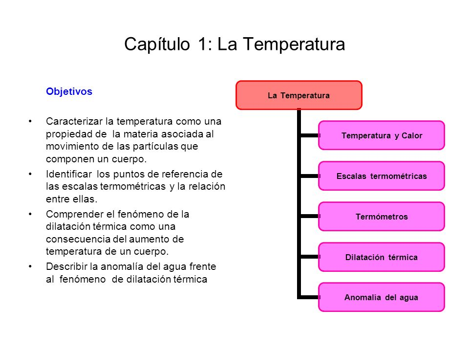 Capítulo 1: La Temperatura