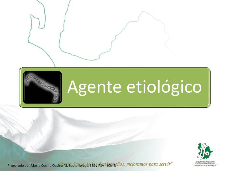 Preparado por María Cecilia Ospina M. Bacterióloga. SSS y PSA - ICMT.