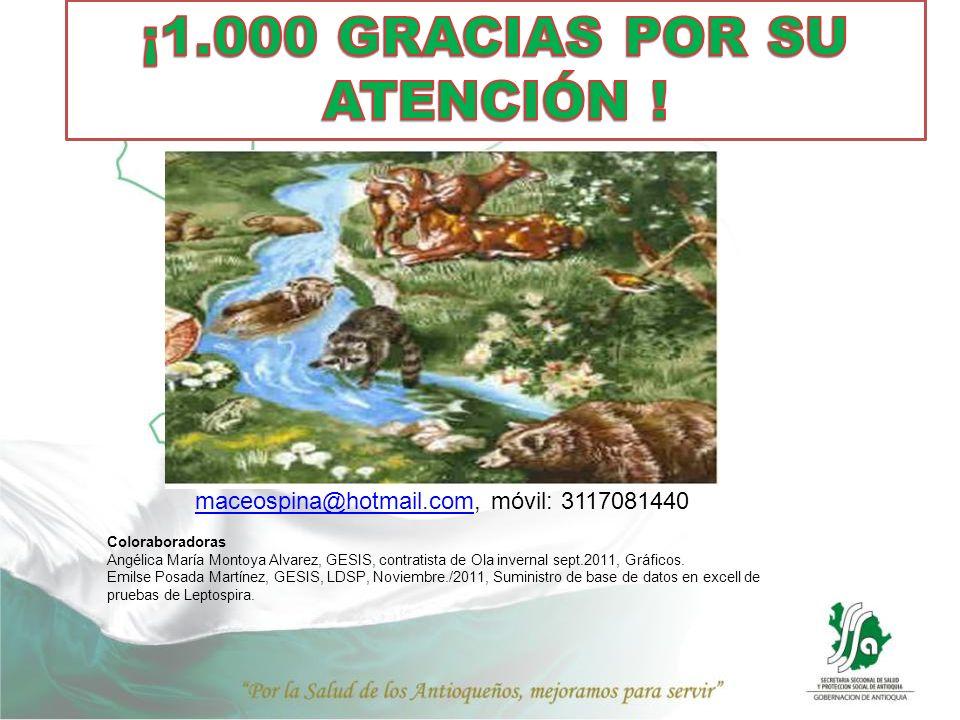 ¡1.000 GRACIAS POR SU ATENCIÓN !