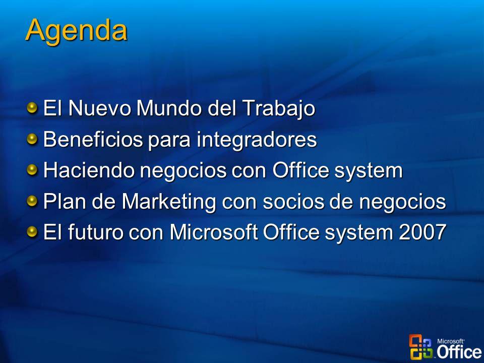 Agenda El Nuevo Mundo del Trabajo Beneficios para integradores