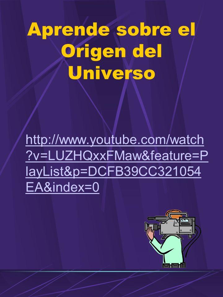 Aprende sobre el Origen del Universo