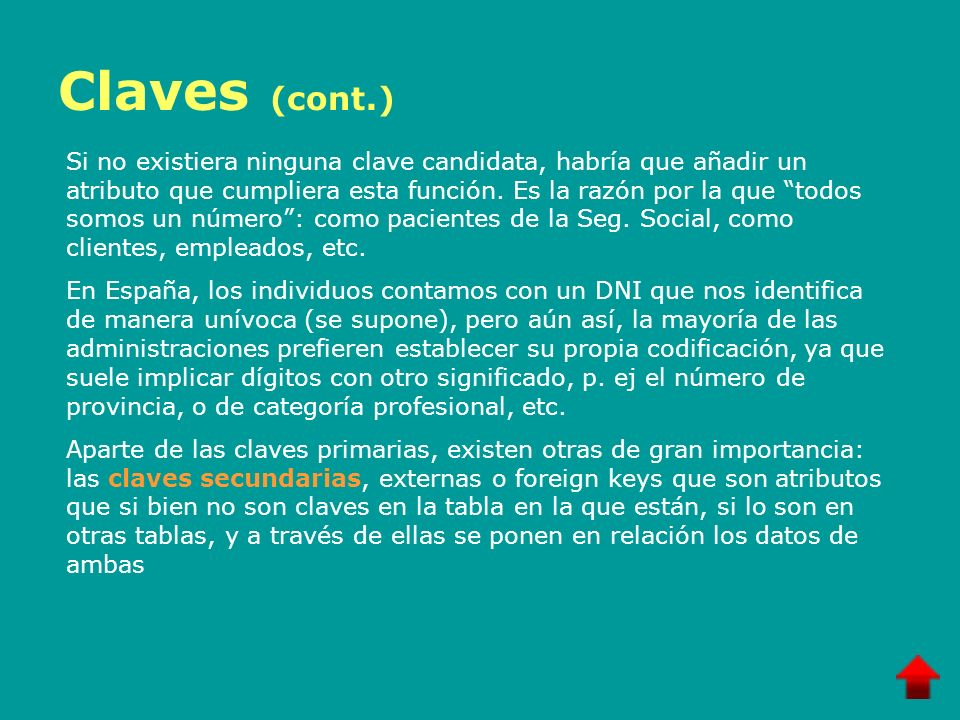 Claves (cont.)