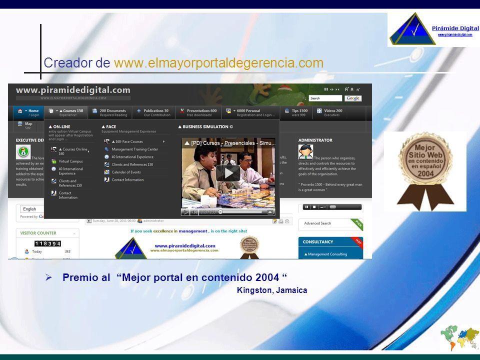 Creador de www.elmayorportaldegerencia.com