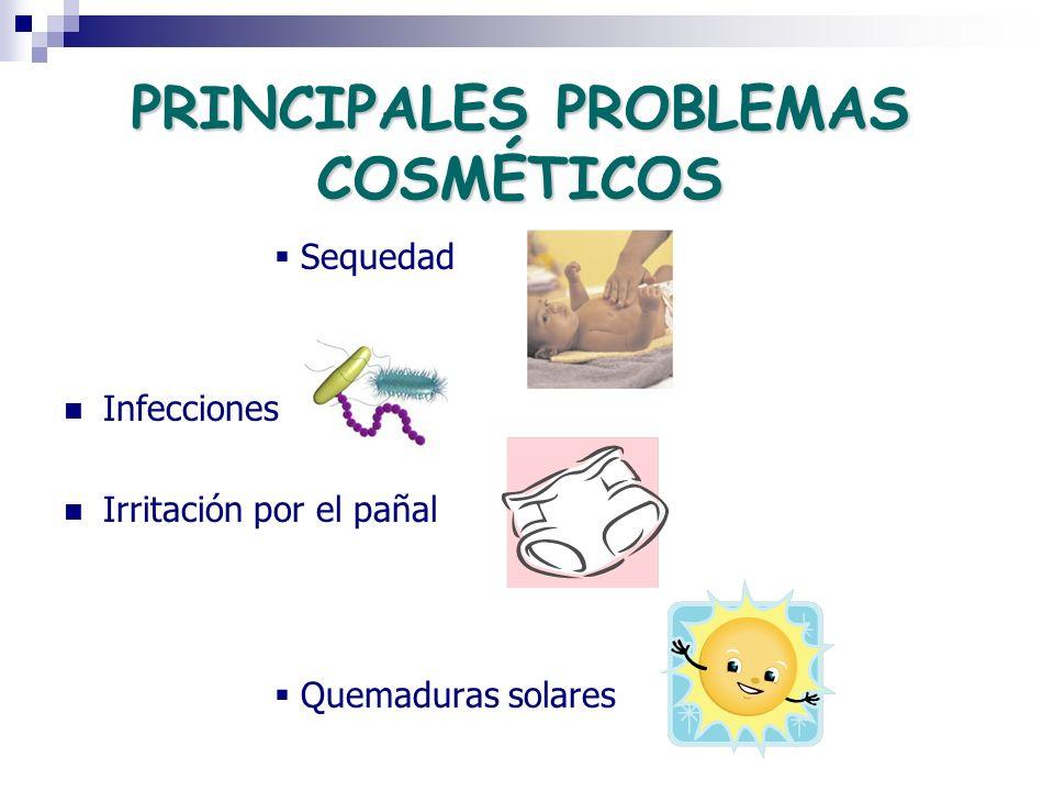 PRINCIPALES PROBLEMAS COSMÉTICOS