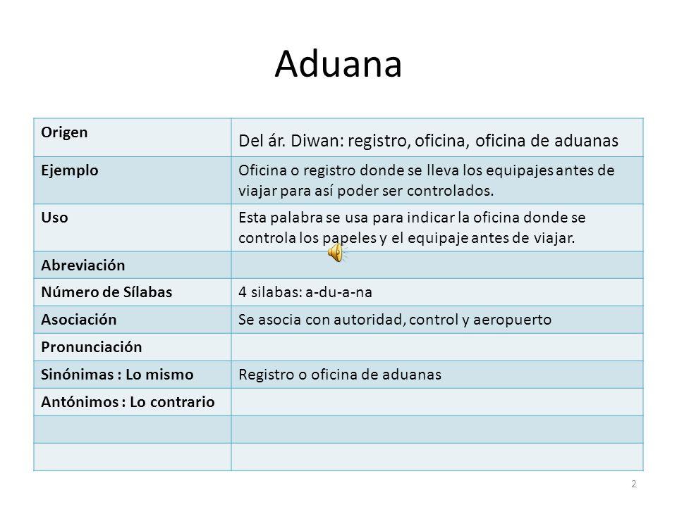 Diccionario de turismo ppt descargar for Origen de las oficinas