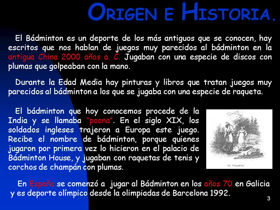 ORIGEN E HISTORIA.