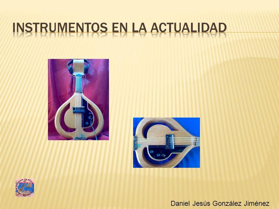 Instrumentos en la actualidad