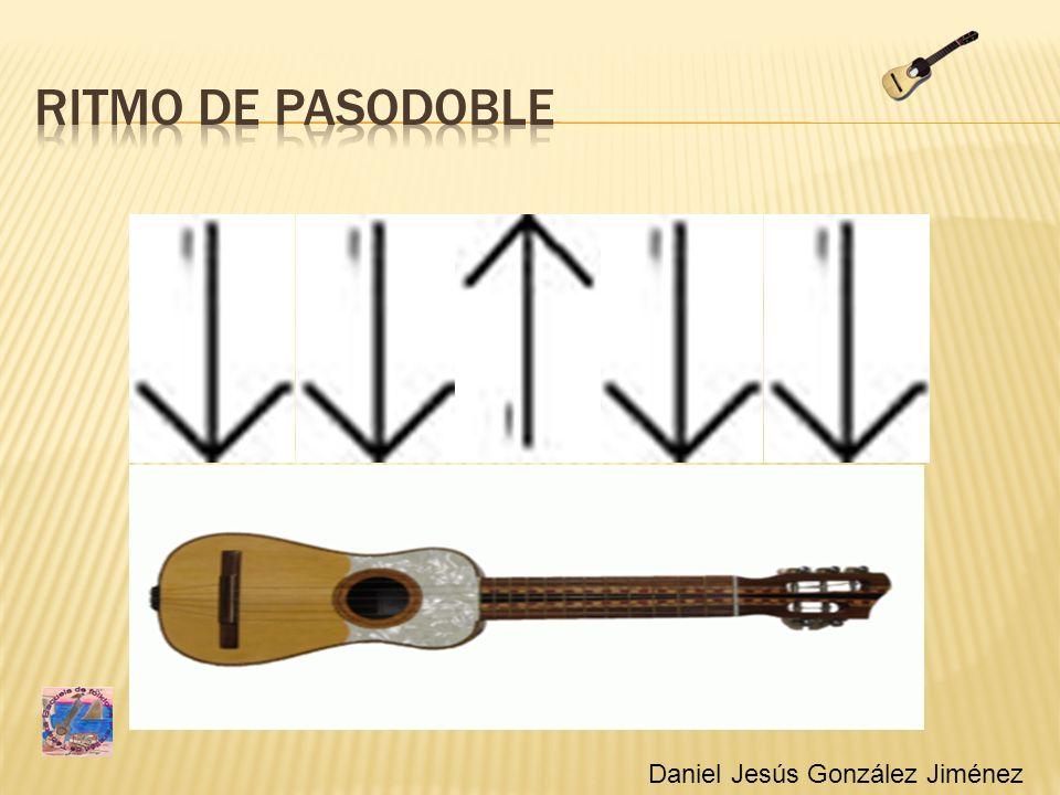 Ritmo de pasodoble Ritmo pasodoble Daniel Jesús González Jiménez