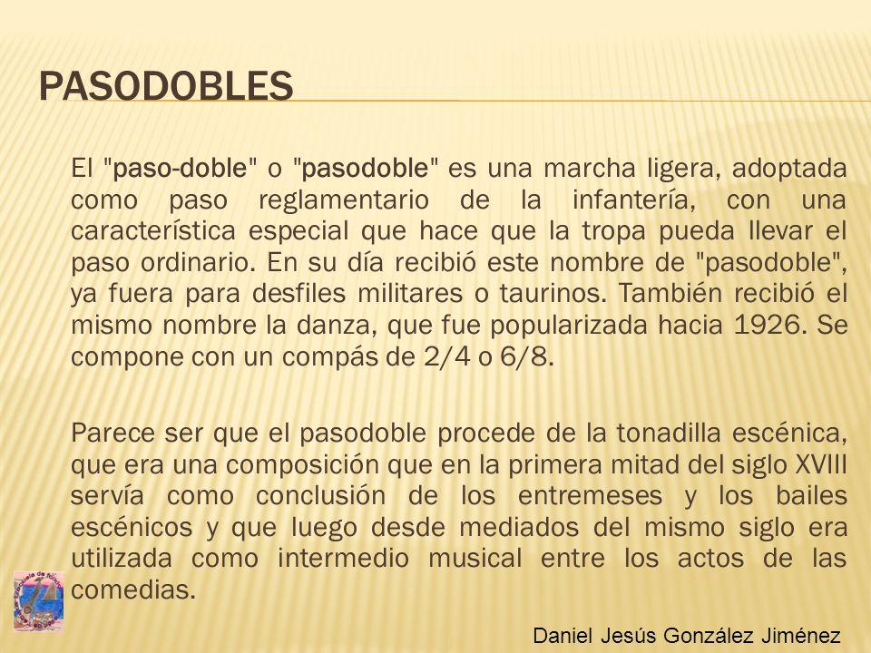 PASODOBLES