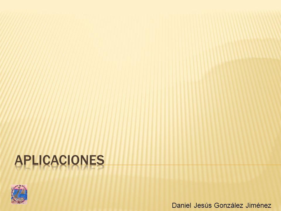 Aplicaciones Daniel Jesús González Jiménez