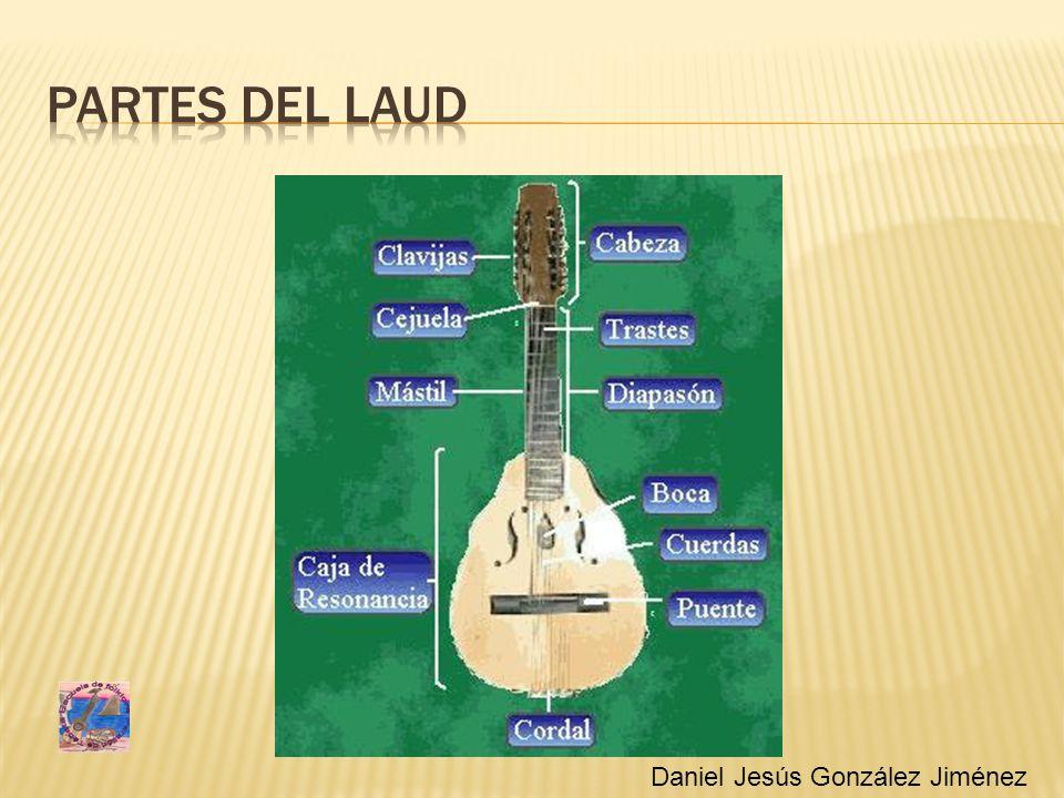 Partes del laud Daniel Jesús González Jiménez