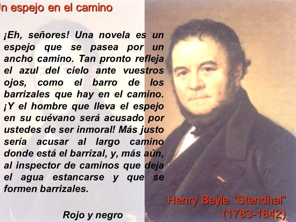 Henry Beyle Stendhal (1783-1842)