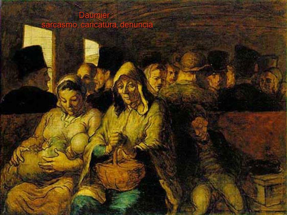 Daumier : sarcasmo, caricatura, denuncia